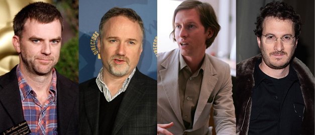 Paul Thomas Anderson, David Fincher, Wes Anderson e Darren Aronofsky
